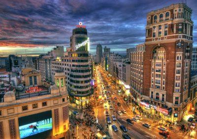 Spain-Madrid-city-street-road-buildings-night-lights_2560x1600