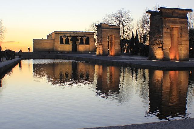 Templo de Debod, un regalo que Egipto hizo a Madrid para sus calles