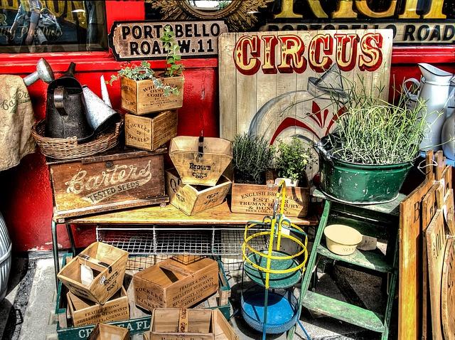 Portobello Market Madrid, ¡ el mercado de Londres llega a la capital!