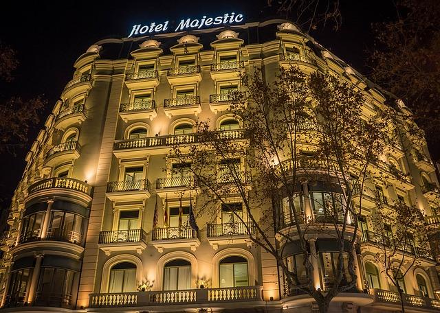 Hoteles cerrados en el verano turístico de Barcelona