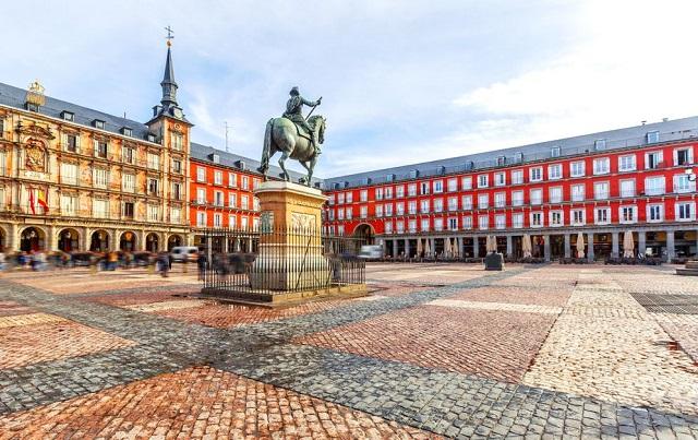 Madrid cuenta con una de las plazas de España más históricas