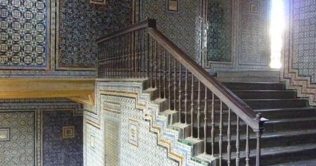 Escalera de la Casa de Pilatos de Sevilla