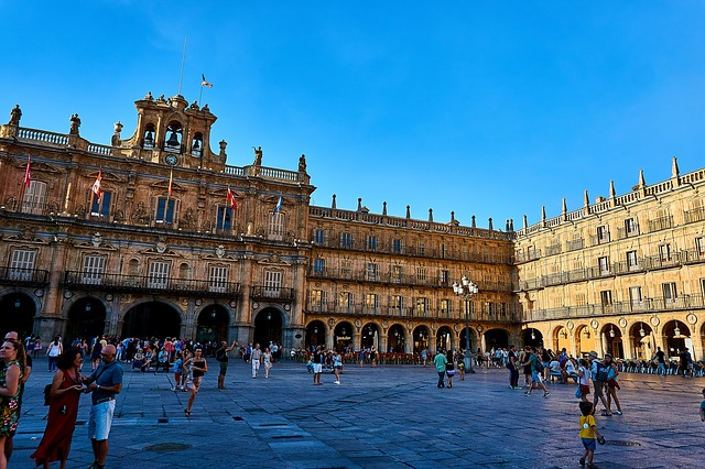 Plazas en España de Salamanca