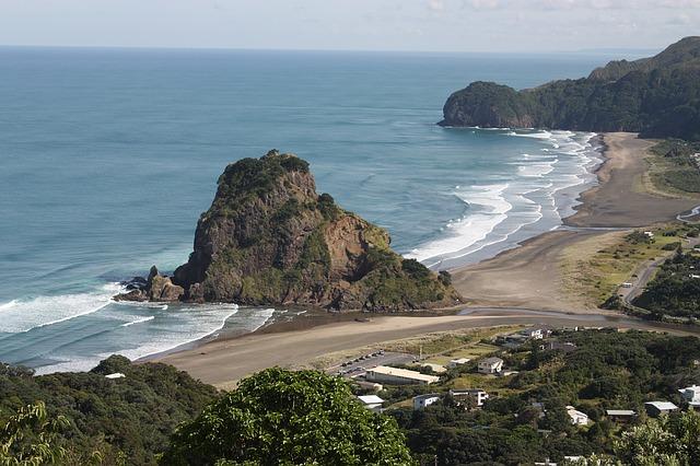 Piha está considerada una de las mejores playas del mundo