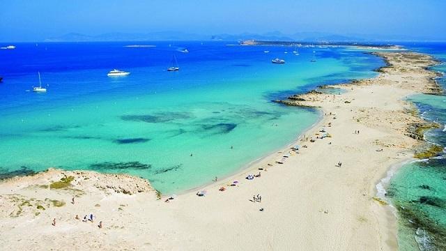 Punta de Es Trucadors, una playa para desconectar en el norte de Formentera