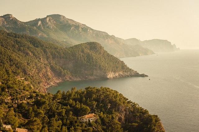 Sierra de Tramontana, espectáculo natural a lo largo de la isla de Mallorca