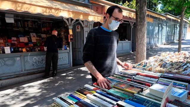 Feria de libros permanente de la Cuesta de Moyano